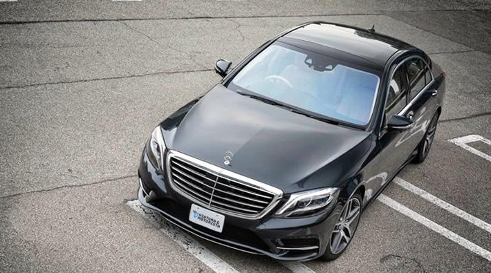 Mercedes Classe S com motorista